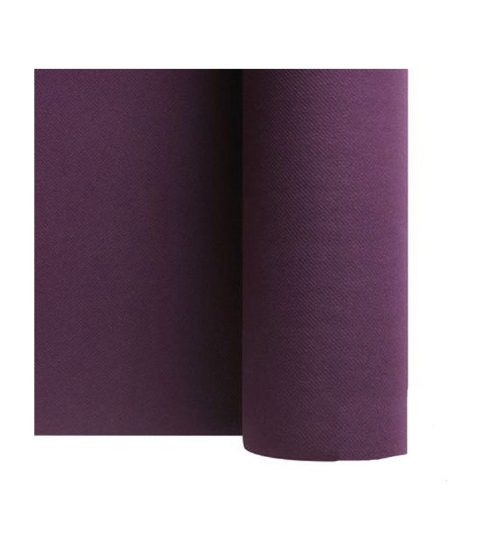 chemin de table intiss aubergine chemin de table violet. Black Bedroom Furniture Sets. Home Design Ideas