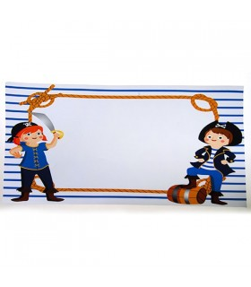 Set de table anniversaire pirate (x12)