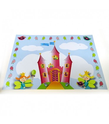 Set de table chateau de princesse (x12)