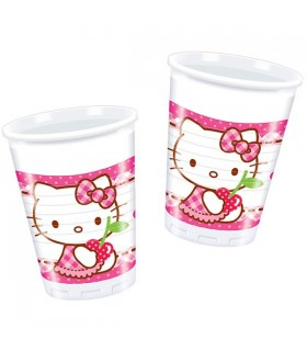 Gobelet anniversaire Hello Kitty