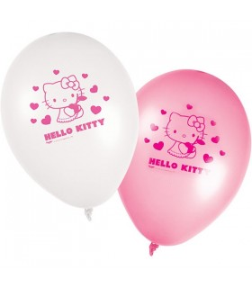 Ballon anniversaire Hello kitty