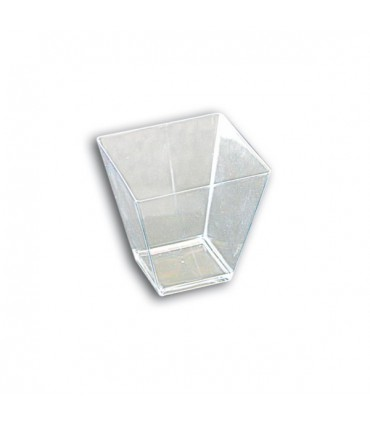 Verrine Transparent Rhombe 90cc (x25)