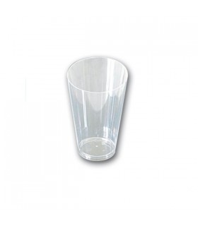 Verrines plastique Transparente Conique (x25)