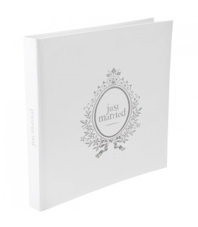 "Livre d'or mariage ""Just Married"""