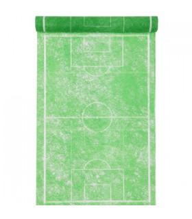 Chemin de table terrain de football