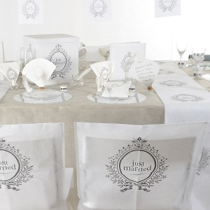 """Table de mariage """"just married"""""""